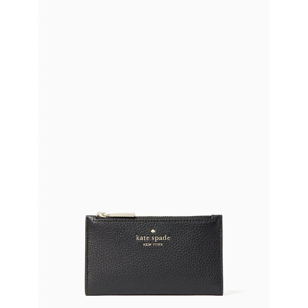 leila small slim bifold wallet