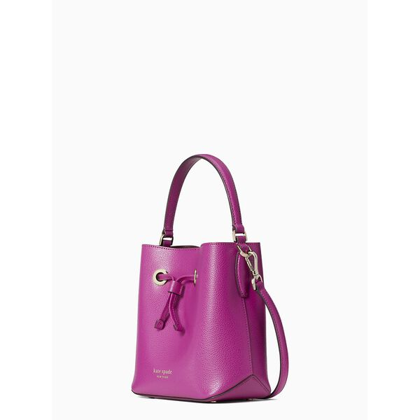 eva small bucket bag, baja rose, hi-res
