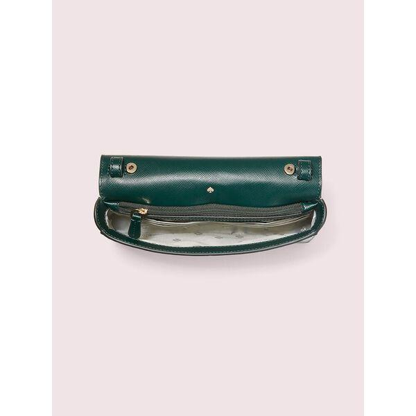 spencer chain wallet, deep evergreen, hi-res