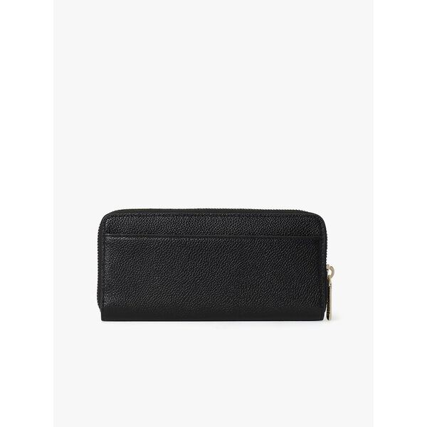 margaux slim continental wallet, BLACK, hi-res