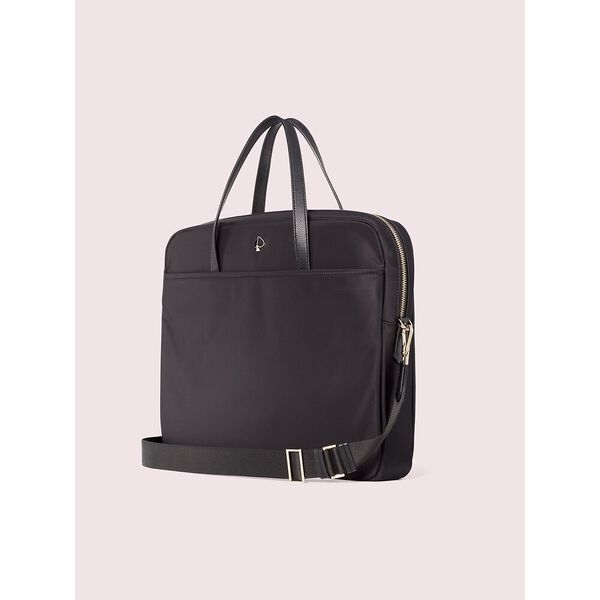 taylor universal laptop bag, black, hi-res