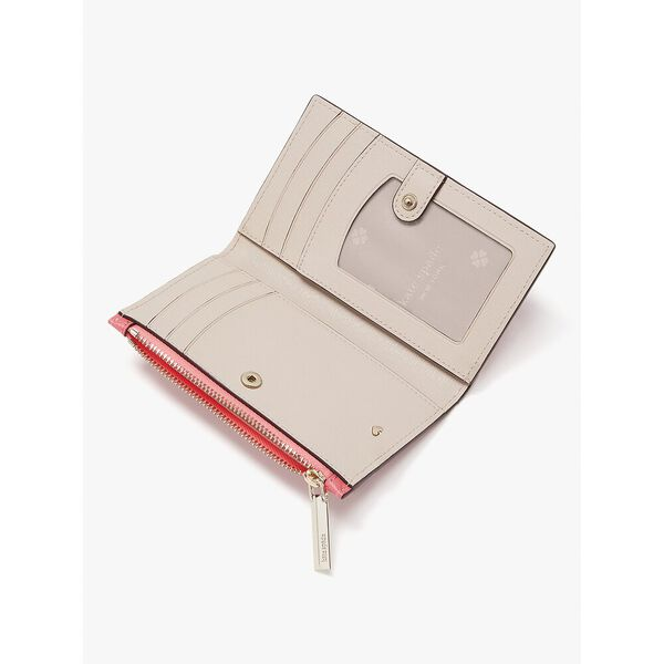 spencer small slim bifold wallet, orchid, hi-res