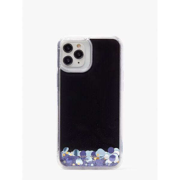 liquid glitter confetti iphone 12 pro max case