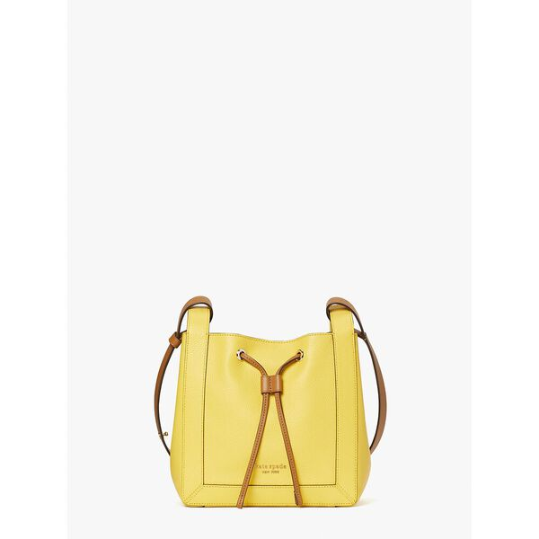 grab small bucket bag, yellow sesame multi, hi-res