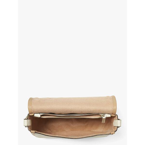roulette large saddle bag, PARCHMENT MULTI, hi-res