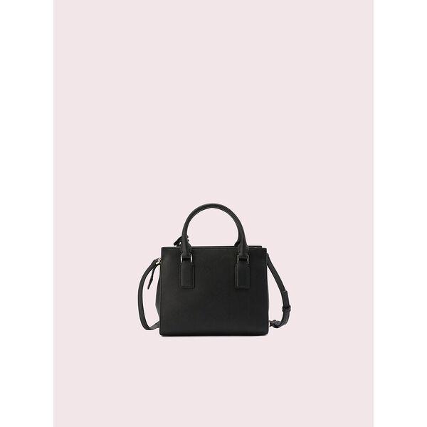 cameron street candace small satchel, black, hi-res