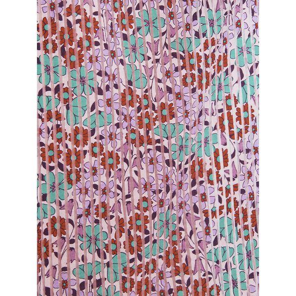 floral medley burnout dress, PUNCH, hi-res