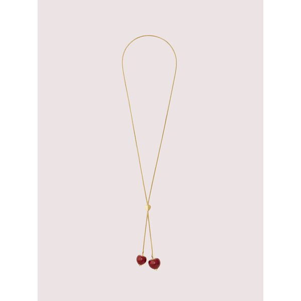 tutti fruity slider necklace, RED, hi-res