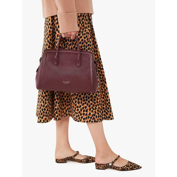 knott large satchel, grenache, hi-res