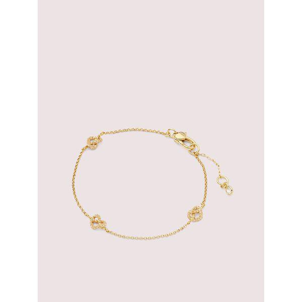 loves me knot pavé bracelet