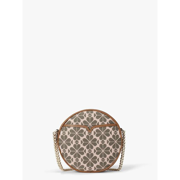 drum logo jacquard medium crossbody