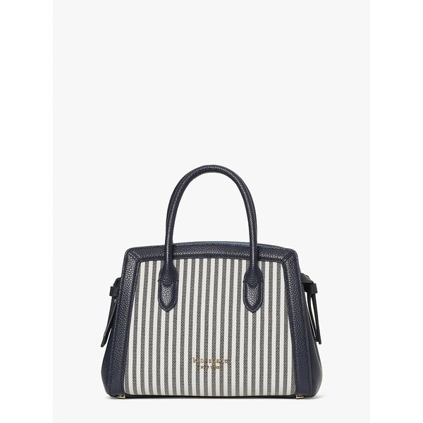 knott stripe mini satchel
