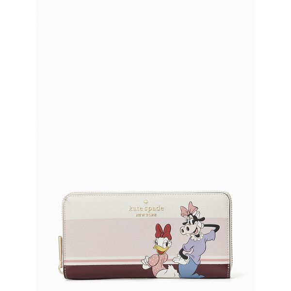 clarabelle & friends large continental wallet