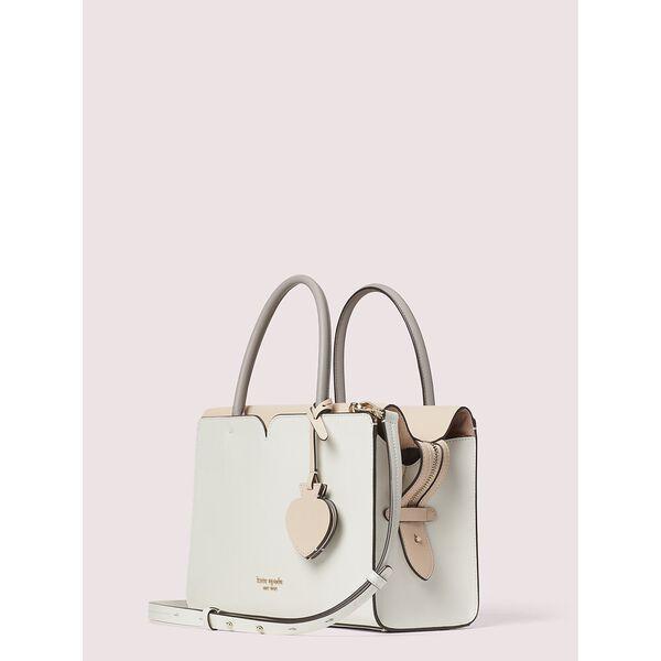 spencer medium satchel, parchment, hi-res