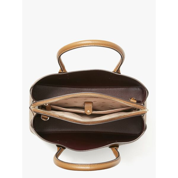 margaux medium satchel, WARM GINGERBREAD, hi-res