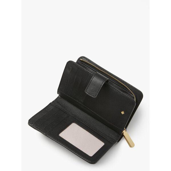 toujours compact wallet, black, hi-res