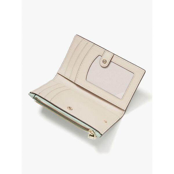 roulette small slim bifold wallet, laurel green, hi-res