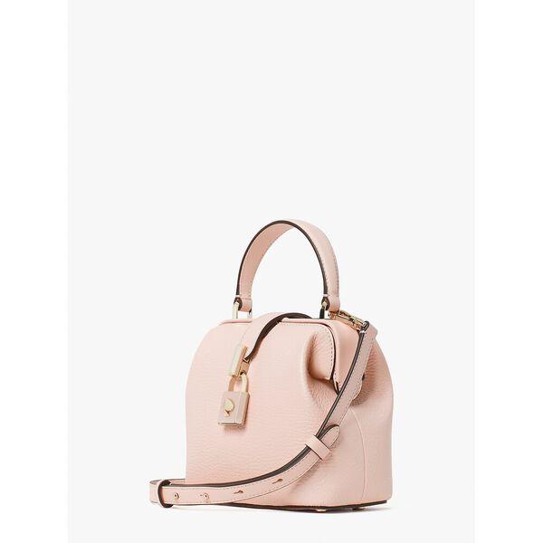 remedy small top-handle bag, pink geo, hi-res