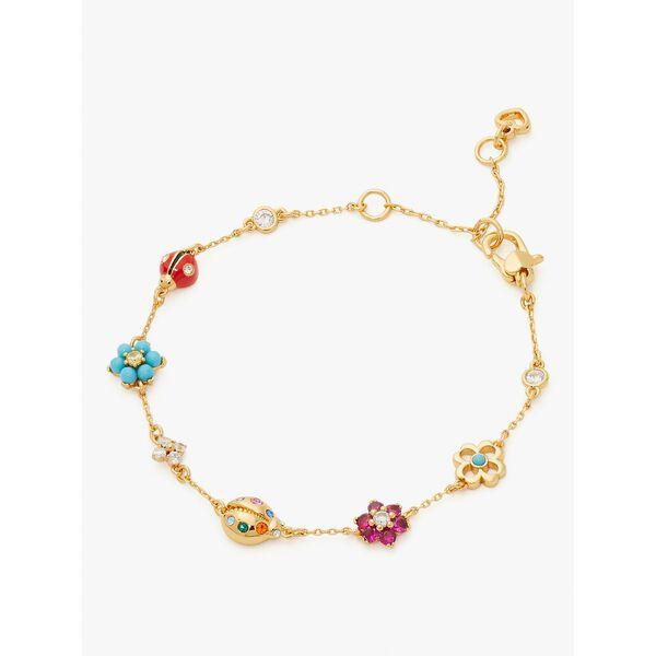 nature walk ladybug bracelet