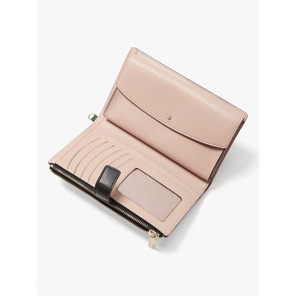 spencer phone wallet, black, hi-res