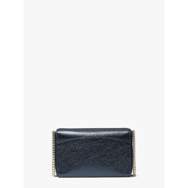 spencer metallic chain wallet, METALLIC NIGHT, hi-res