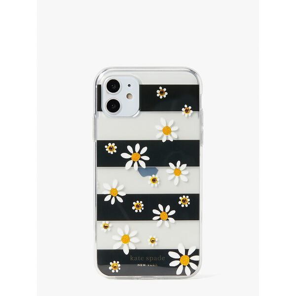 jeweled daisy dots iphone 11 case, multi, hi-res