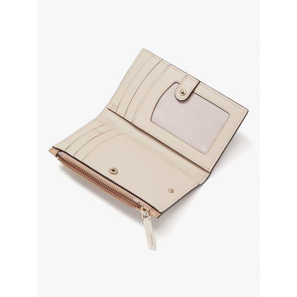 spencer small slim bifold wallet, raw pecan, hi-res