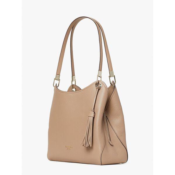 loop large shoulder bag, raw pecan, hi-res