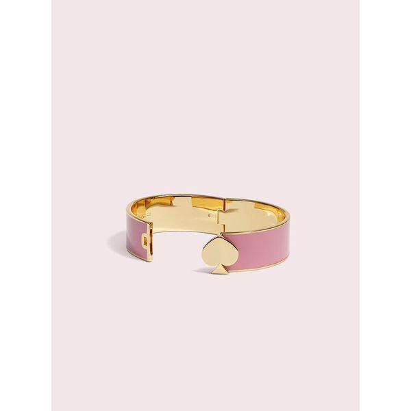 heritage spade bangle, rococo pink, hi-res
