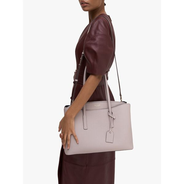 margaux large work tote, true taupe, hi-res