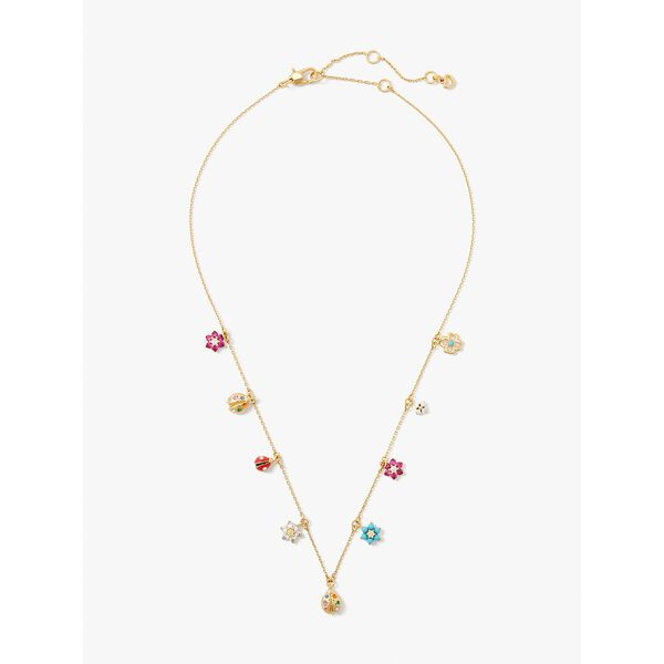nature walk ladybug charm necklace