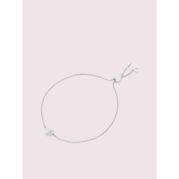 heart to heart pave slider bracelet