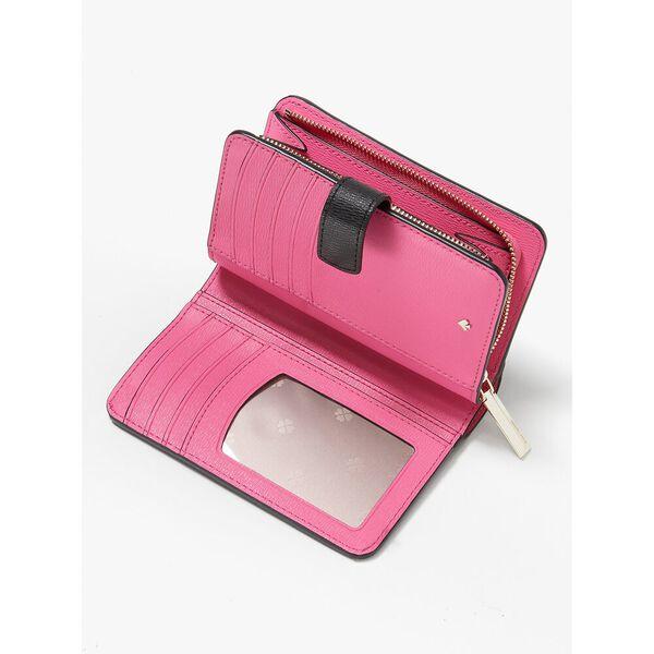 spencer sunshine dot compact wallet, black multi, hi-res