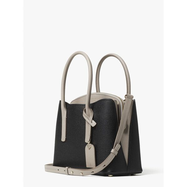 margaux medium satchel, BLACK MULTI, hi-res
