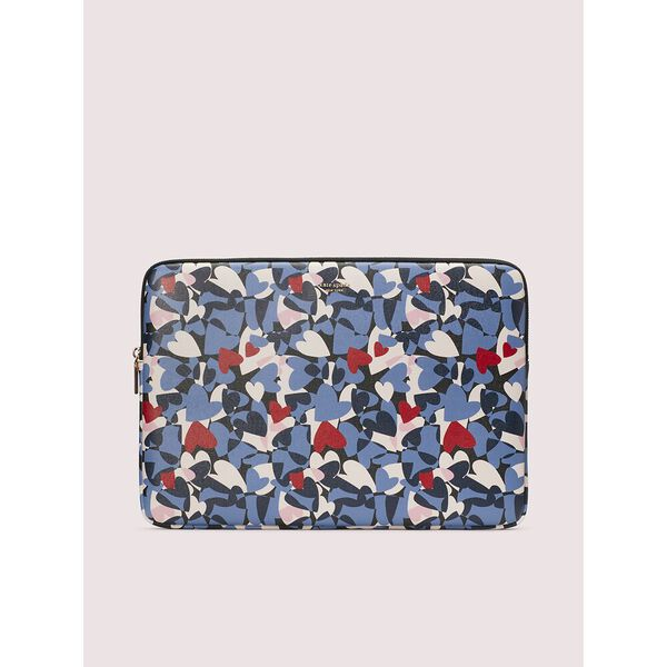 sylvia heart party laptop sleeve
