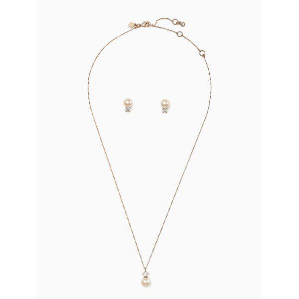 pearls of wisdom stud and pendant set