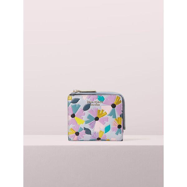 spencer glitter wallflower small bifold wallet