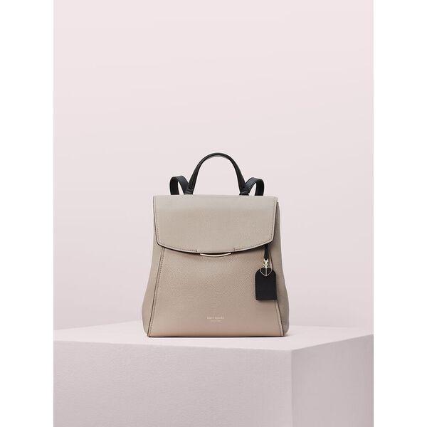 grace medium backpack, warm taupe/black, hi-res