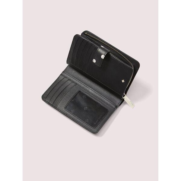 spencer cabana dot compact wallet, black multi, hi-res