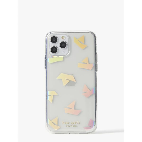 paper boats iphone 11 pro case, clear, hi-res
