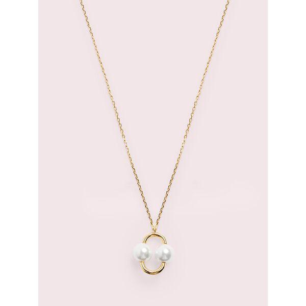 nouveau pearls mini pendant