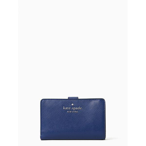 staci medium compact bifold wallet, river blue, hi-res