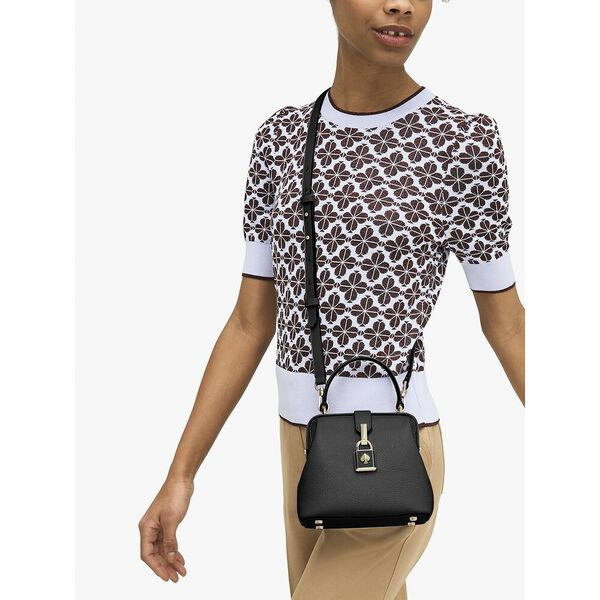 remedy small top-handle bag, black, hi-res