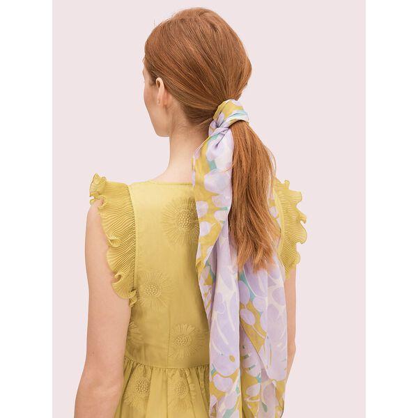 monstera grove square scarf