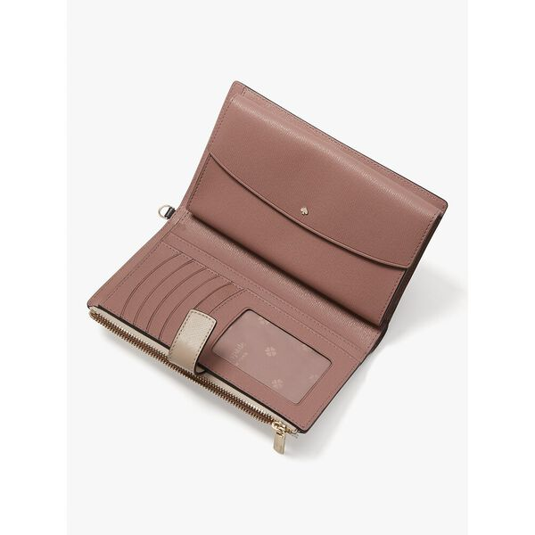 spencer phone wallet, warm beige/black, hi-res