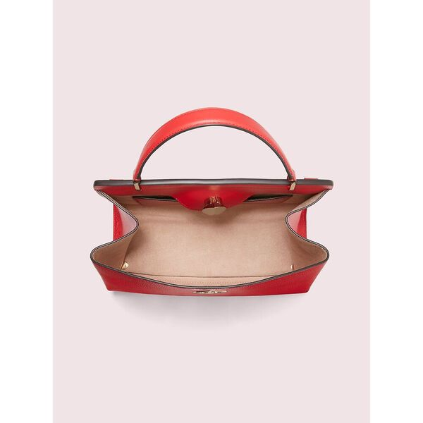 romy medium satchel, hot chili, hi-res