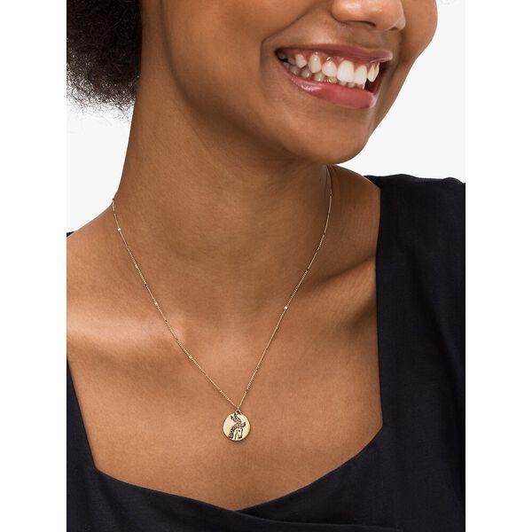 in the stars sagittarius pendant, gold, hi-res
