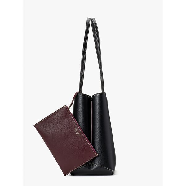 all day large tote, BLACK, hi-res