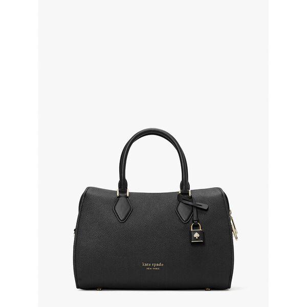 zip code medium satchel, black, hi-res
