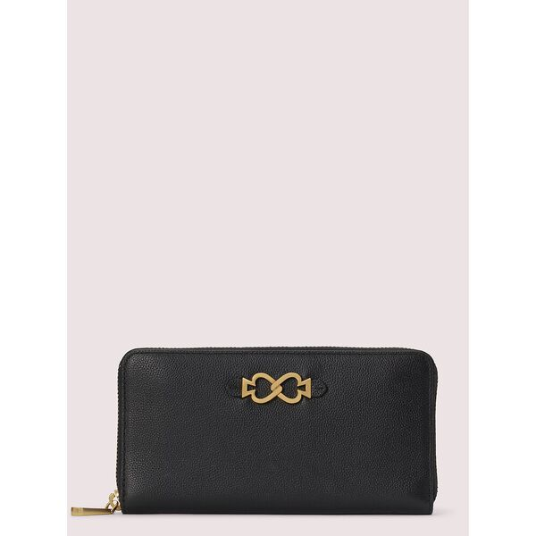 toujours zip-around continental wallet